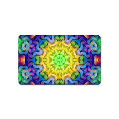 Psychedelic Abstract Magnet (Name Card)