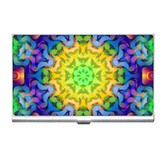 Psychedelic Abstract Business Card Holder