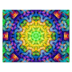 Psychedelic Abstract Jigsaw Puzzle (rectangle)