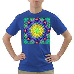 Psychedelic Abstract Men s T-shirt (Colored)