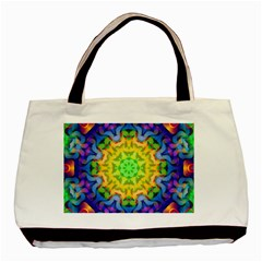 Psychedelic Abstract Classic Tote Bag