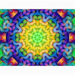 Psychedelic Abstract Canvas 12  x 16  (Unframed)