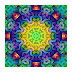 Psychedelic Abstract Glasses Cloth (Medium, Two Sided)