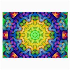 Psychedelic Abstract Glasses Cloth (Large)