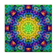 Psychedelic Abstract Face Towel