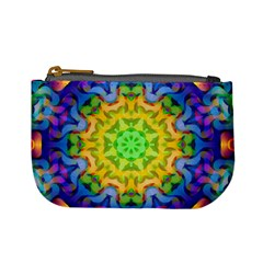 Psychedelic Abstract Coin Change Purse
