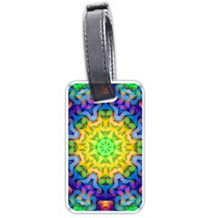 Psychedelic Abstract Luggage Tag (One Side)