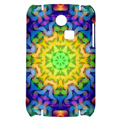 Psychedelic Abstract Samsung S3350 Hardshell Case