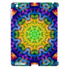 Psychedelic Abstract Apple Ipad 3/4 Hardshell Case (compatible With Smart Cover)
