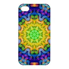Psychedelic Abstract Apple Iphone 4/4s Premium Hardshell Case