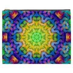 Psychedelic Abstract Cosmetic Bag (XXXL)