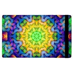 Psychedelic Abstract Apple Ipad 2 Flip Case