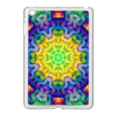 Psychedelic Abstract Apple Ipad Mini Case (white)