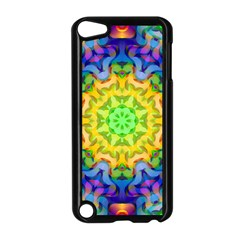 Psychedelic Abstract Apple Ipod Touch 5 Case (black)