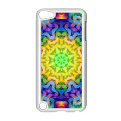 Psychedelic Abstract Apple iPod Touch 5 Case (White)