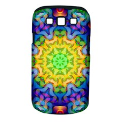 Psychedelic Abstract Samsung Galaxy S III Classic Hardshell Case (PC+Silicone)