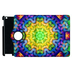 Psychedelic Abstract Apple iPad 2 Flip 360 Case
