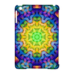 Psychedelic Abstract Apple iPad Mini Hardshell Case (Compatible with Smart Cover)