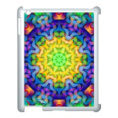 Psychedelic Abstract Apple Ipad 3/4 Case (white)