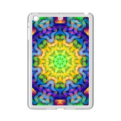 Psychedelic Abstract Apple iPad Mini 2 Case (White)