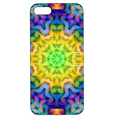 Psychedelic Abstract Apple iPhone 5 Hardshell Case with Stand