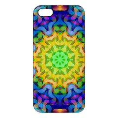 Psychedelic Abstract Apple Iphone 5 Premium Hardshell Case