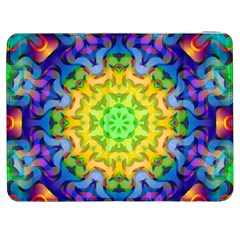 Psychedelic Abstract Samsung Galaxy Tab 7  P1000 Flip Case