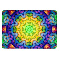 Psychedelic Abstract Samsung Galaxy Tab 10.1  P7500 Flip Case