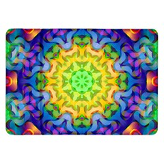 Psychedelic Abstract Samsung Galaxy Tab 8 9  P7300 Flip Case