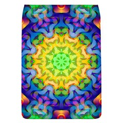 Psychedelic Abstract Removable Flap Cover (Large)