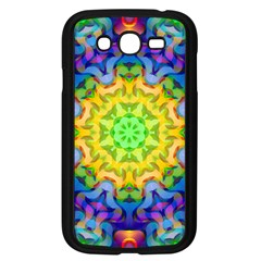 Psychedelic Abstract Samsung Galaxy Grand DUOS I9082 Case (Black)