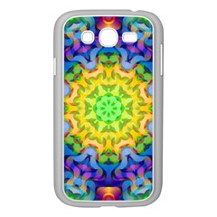Psychedelic Abstract Samsung Galaxy Grand DUOS I9082 Case (White)