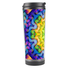 Psychedelic Abstract Travel Tumbler