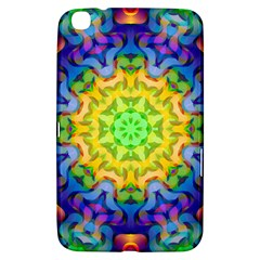 Psychedelic Abstract Samsung Galaxy Tab 3 (8 ) T3100 Hardshell Case