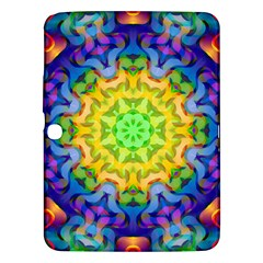 Psychedelic Abstract Samsung Galaxy Tab 3 (10.1 ) P5200 Hardshell Case
