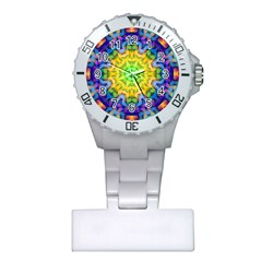 Psychedelic Abstract Nurses Watch