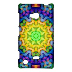 Psychedelic Abstract Nokia Lumia 720 Hardshell Case