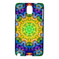 Psychedelic Abstract Samsung Galaxy Note 3 N9005 Hardshell Case