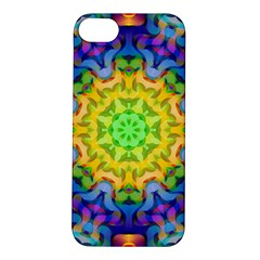 Psychedelic Abstract Apple iPhone 5S Hardshell Case