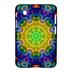Psychedelic Abstract Samsung Galaxy Tab 2 (7 ) P3100 Hardshell Case