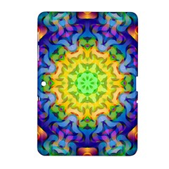 Psychedelic Abstract Samsung Galaxy Tab 2 (10.1 ) P5100 Hardshell Case