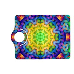 Psychedelic Abstract Kindle Fire HD 7  (2nd Gen) Flip 360 Case