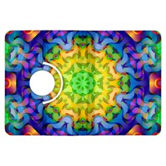 Psychedelic Abstract Kindle Fire HDX 7  Flip 360 Case