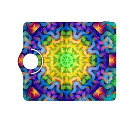 Psychedelic Abstract Kindle Fire HDX 8.9  Flip 360 Case
