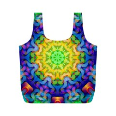 Psychedelic Abstract Reusable Bag (M)