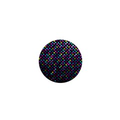 Polka Dot Sparkley Jewels 2 1  Mini Button