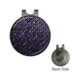 Polka Dot Sparkley Jewels 2 Hat Clip With Golf Ball Marker