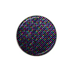 Polka Dot Sparkley Jewels 2 Golf Ball Marker 4 Pack (for Hat Clip)