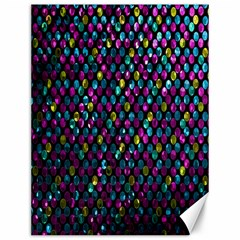 Polka Dot Sparkley Jewels 2 Canvas 12  x 16  (Unframed)