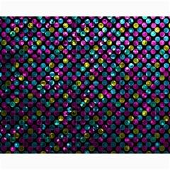 Polka Dot Sparkley Jewels 2 Canvas 16  x 20  (Unframed)